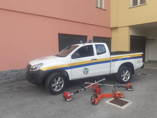 Roccavignale, un nuovo pick-up per la Protezione civile: il 13 settembre l'inaugurazione (FOTO)