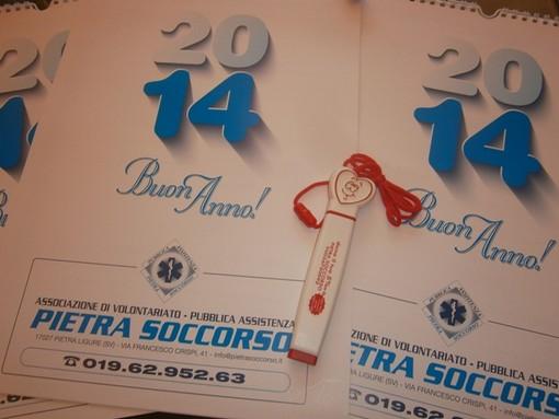 Un anno di solidarietà con il calendario di Pietra Soccorso