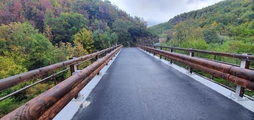 Urbe, il ponte in località Orbarina torna percorribile: completati i lavori di messa in sicurezza (FOTO)