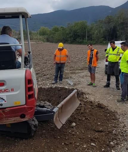 Albenga, guasto alla rete fognaria in frazione Bastia: intervento dei tecnici Sca