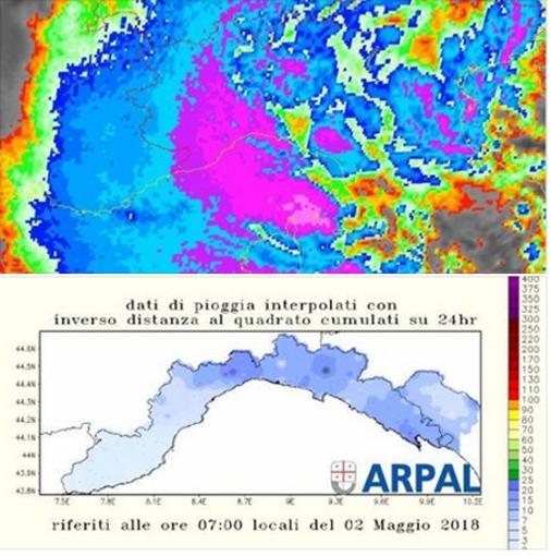 Torna il maltempo il Liguria, pioggia e nuvole nei prossimi giorni