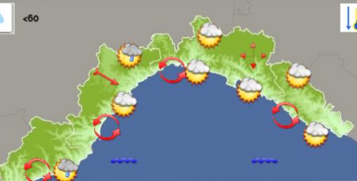 Meteo: sarà un sabato 19 settembre parzialmente nuvoloso su savonese e genovese