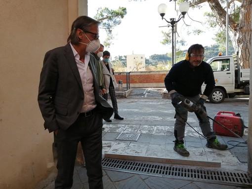Albenga, nuove paratie a protezione del Centro Storico