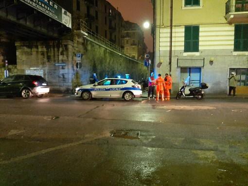 """Savona, allagamenti in via Guidobono, Santi puntualizza: """"I tombini erano puliti, acqua fuoriuscita per la piena del Letimbro"""""""