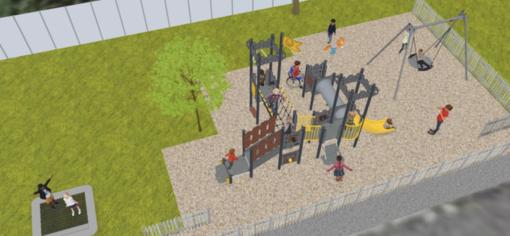 """Finalborgo, un nuovo parco giochi vicino al Liceo Issel. Guzzi: """"Investimento necessario da tempo"""""""