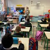 """Albenga, suono della campanella alle primarie, il sindaco Tomatis: """"C'è molto entusiasmo e voglia di tornare a una socialità normale"""""""