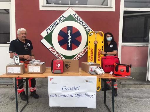 A Pietra Ligure la solidarietà non conosce confini: da Offenburg un aiuto concreto a Pietra Soccorso (FOTO)