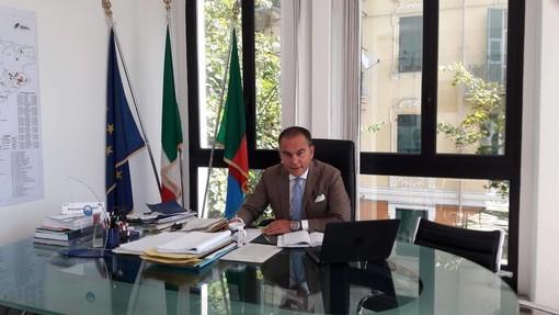 """Quiliano ottiene il titolo di """"Città"""": il presidente della provincia Olivieri si congratula per la prestigiosa onorificenza"""
