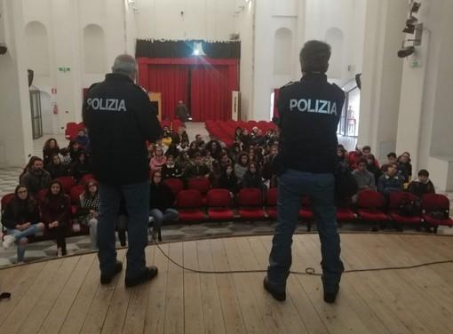 La Polizia di Stato incontra gli studenti: tre appuntamenti a Finale Ligure