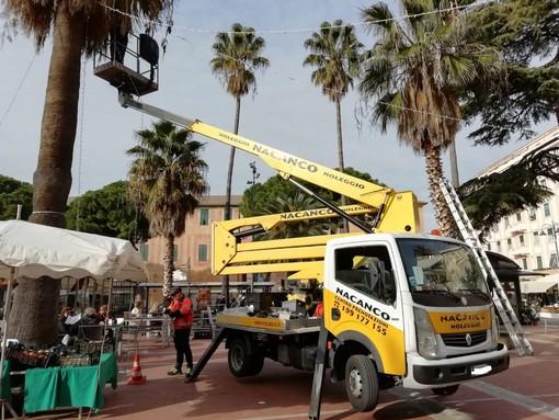 """""""Albenga New Year's Circus"""": iniziano gli allestimenti in piazza del Popolo"""