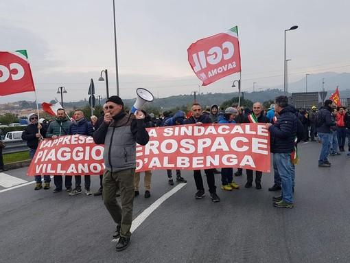 """Piaggio Aero, sblocco degli stipendi. Rsu: """"Domani attendiamo notizie positive dal Tribunale"""""""