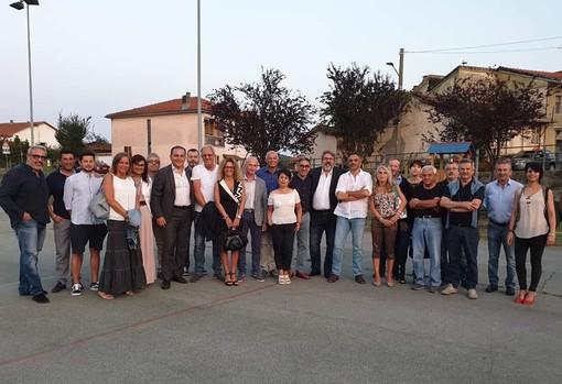 Regione, Provincia e amministratori valbormidesi ai festeggiamenti di San Bartolomeo, patrono di Cosseria