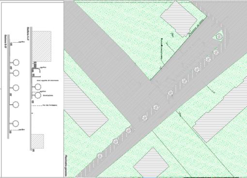 Un nuovo parcheggio e allargamento di via Goisuè Carducci, importanti interventi a Leca d'Albenga