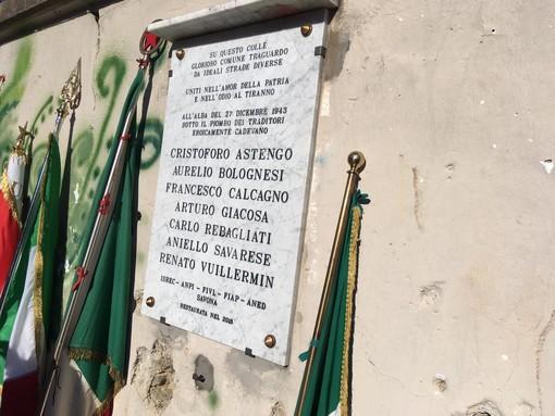 Savona, torna al suo posto la lapide della Madonna degli Angeli (FOTO)