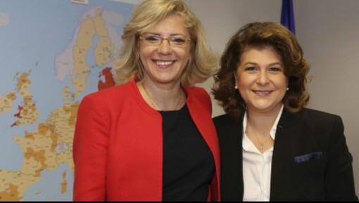 Rovana Plumb, nuovo commissario europeo ai Trasporti, tra le prossime sfide anche il raddoppio ferroviario Andora – Finale Ligure