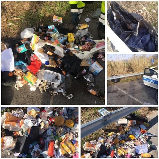 """Identificato e multato lo """"Sporcaccione della Val Varatella"""" che scaricava i propri rifiuti a Borghetto"""