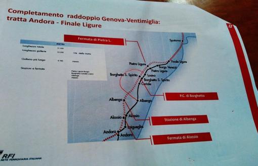 """Raddoppio ferroviario, il sindaco di Albenga Tomatis: """"Necessario realizzare infrastrutture"""""""