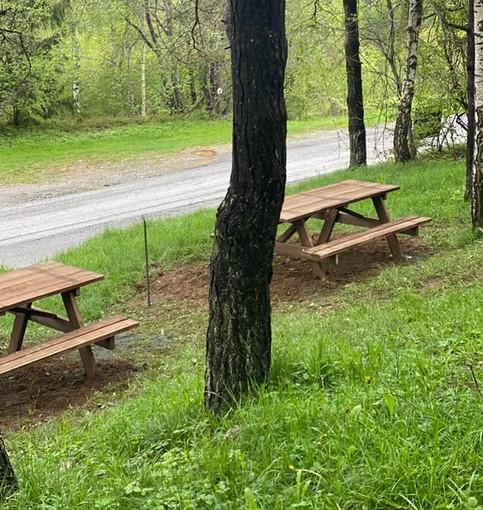 Bardineto, rinnovata l'area picnic situata alle porte del paese (FOTO)
