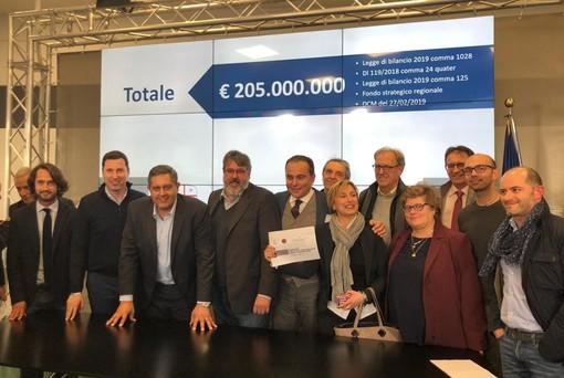 Oltre 25 milioni di euro per il territorio della Provincia di Savona