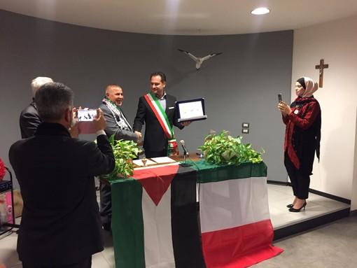 Roccavignale sigla un patto di amicizia con la città palestinese di Beit Ula
