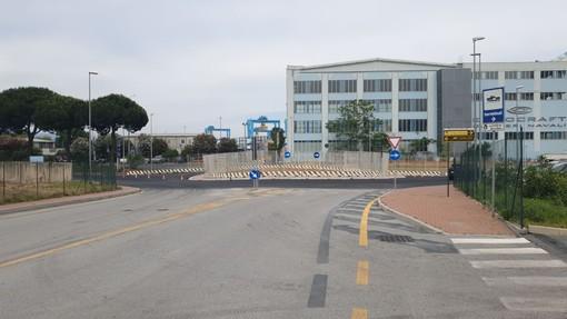 Realizzazione nuova rotonda a Vado tra l'Aurelia e via Trieste: istituito il senso unico alternato