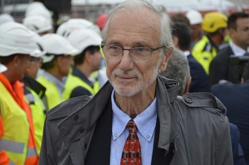 """Renzo Piano dona il suo cantiere più importante alla città: """"Ora speriamo questo ponte sia amato"""""""