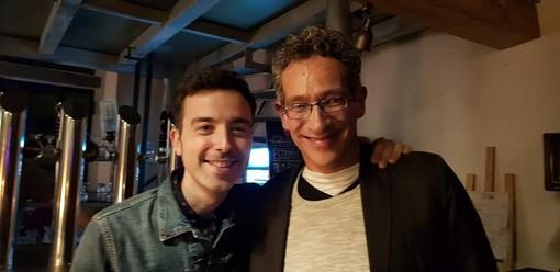 Roberto Grossi con Diodato, vincitore del Festival di Sanremo 2020