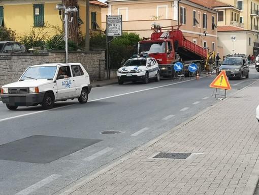 Pietra Ligure, la prima mossa di De Vincenzi: in arrivo la revoca dell'autorizzazione all'esecuzione in orario diurno dei lavori alla rete del gas