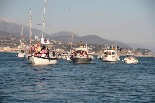 Carnevale Savona, come da tradizione Re Cicciolin arriva dal mare