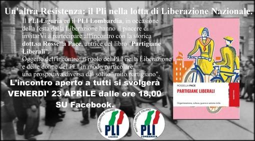 Il Partito Liberale Italiano celebra il 25 aprile con un incontro in video sul tema della Resistenza