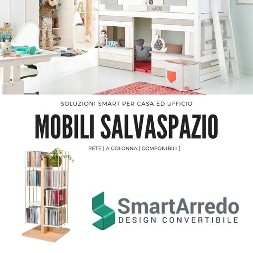 Ottimizzare ogni spazio di un miniappartamento grazie ai mobili Smart Arredo