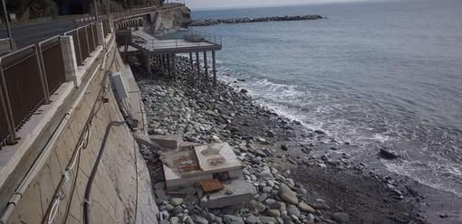 Celle, lo scirocco spazza via la spiaggia dei Piani: è già emergenza (FOTO)