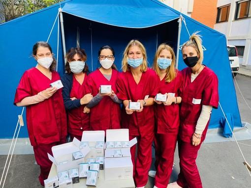 Foto tratta dalla pagina Facebook della Croce Bianca di Varigotti