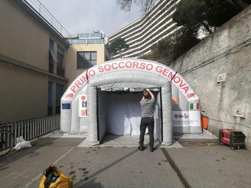 Donna di 86 anni morta al San Martino di Genova: era affetta dal Coronavirus