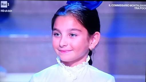 """Ai Soliti Ignoti la """"bimba più veloce"""": Sara, 7 anni, di Borghetto Santo Spirito"""