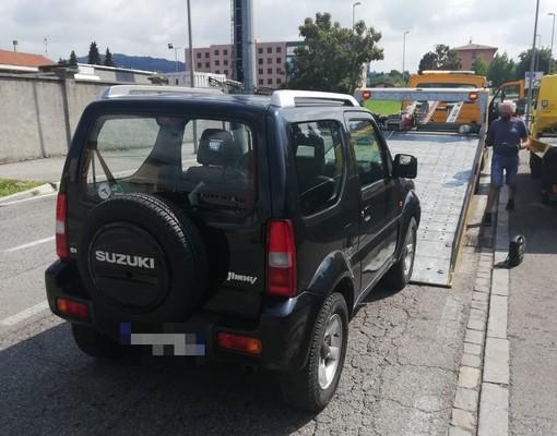 Il parco macchine della Polizia Locale di Albenga si arricchisce con un Suzuki Jimmy