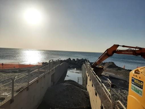 Sistemazione argine rio S. Brigida a Celle: i lavori si concluderanno ad aprile