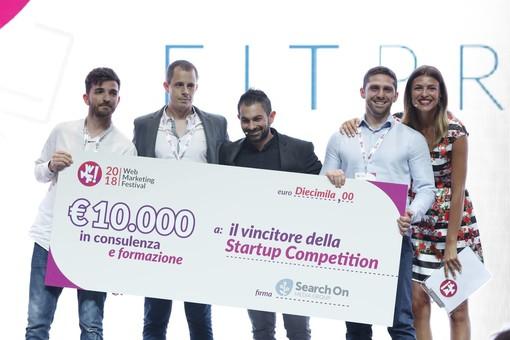 Fitprime vince la 5^ Startup Competition del Web Marketing Festival. Trionfo anche per le startup young Tripeasy e Domius nella sala dedicata a progetti innovativi