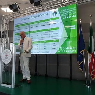 Riqualificazione energetica palazzo comunale di Cosseria: il progetto presentato in Regione