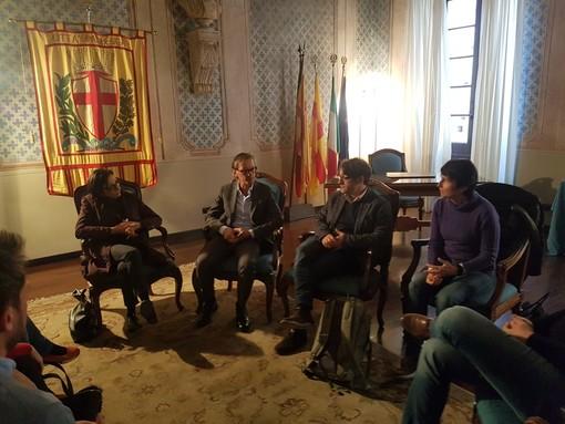Visita della Soprintendente generale architetto Salvitti ad Albenga