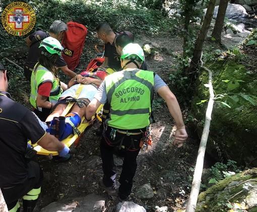 Escursionista infortunata a Rialto: intervento dei soccorritori