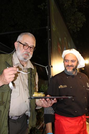 Sagralea d'Albenga, un successo la millefoglie di Andrea Milazzo, ultima sera con lo show cooking di Federico Scardina