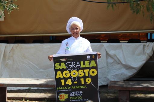 Nelle due foto: Gabriella Caratti e di Sagralea