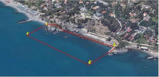 Ordigni bellici nel mare tra Albisola e Celle: in corso le operazioni di recupero e brillamento