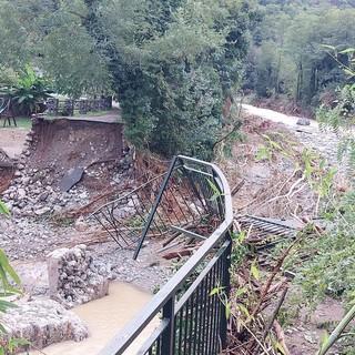 """Maltempo, sopralluogo di Toti e Giampedrone al Santuario: """"Intervento tempestivo della Regione sulle zone più colpite"""" (FOTO e VIDEO)"""