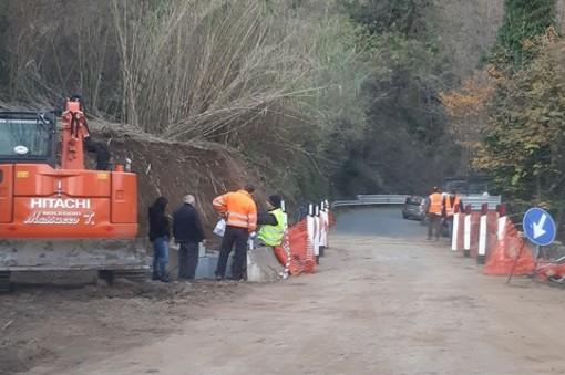 S.P. 542 di Pontinvrea, il cronoprogramma della Provincia sulla strada interessata dai lavori di messa in sicurezza del ponte in località Teglia