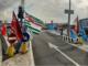 """Savona, presidio al varco portuale dei sindacati: """"Vogliamo risposte dall'Autorità di Sistema, le leggi dello Stato vanno applicate"""" (VIDEO)"""