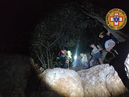 Escursionisti in difficoltà sulle alture di Orco Feglino: intervento dei soccorritori