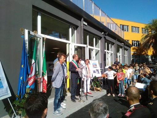 Andora, inaugurato ufficialmente ll rinnovato plesso scolastico di via Cavour (FOTO e VIDEO)