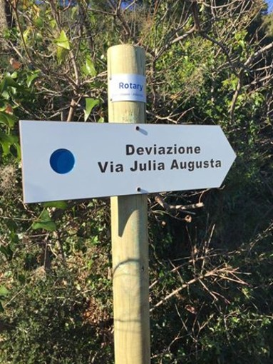 Albenga: nuova segnaletica per la via Julia Augusta